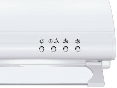 Depurador de Ar Brastemp 60cm BAA60EBANA - 3 Velocidades com as melhores condições você encontra no Magazine Gatapreta. Confira!