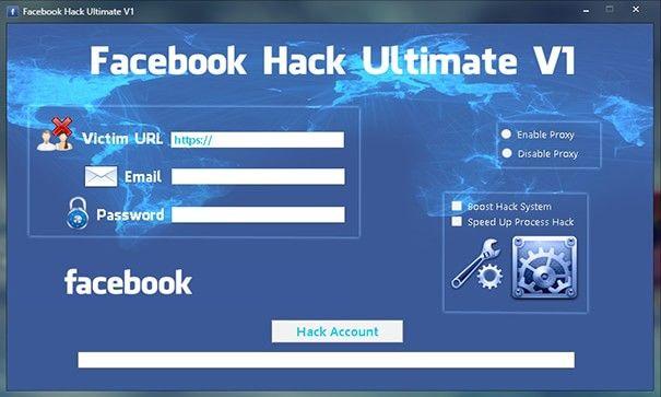 Download Ultimate Facebook Hacker v3.5.1 ( Full Version )