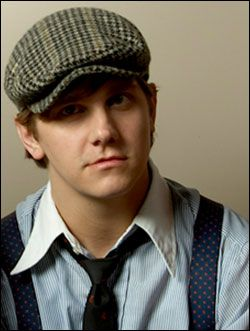 Bo Rinehart from Needtobreathe....He's wearing a newsies hat.