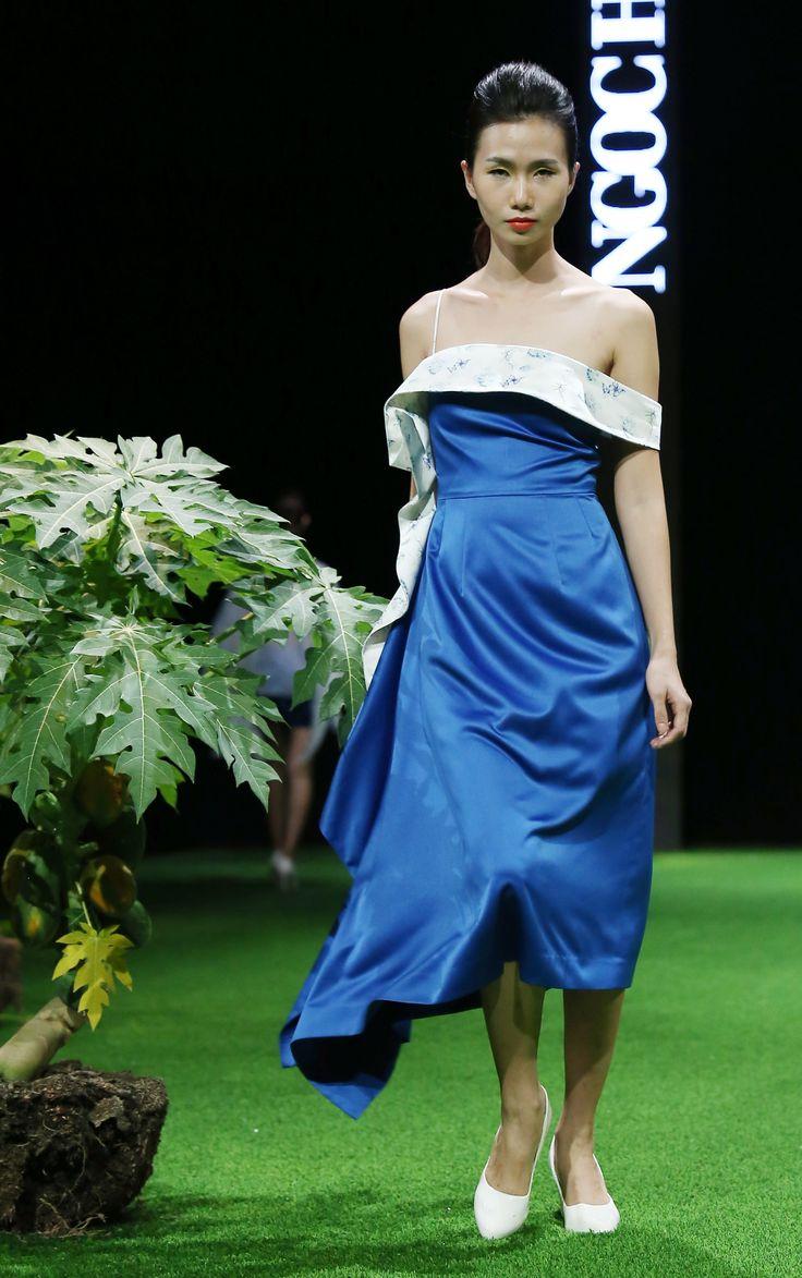 Vietnam Fashion Week SS17 - Ready to wear.        Designer: Ngoc Han   Photo: Cao Duy