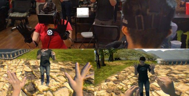 Control VR: Guantes de realidad virtual para control preciso en mundos virtuales - CHW#RV #controlvr #tech