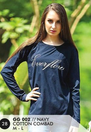 Kaos Long T Shirt Wanita Casual dan Trendy [GG 002] (Brand Everflow) Free Ongkir