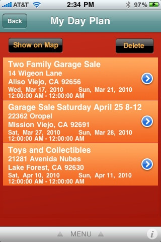 """""""MEDL Mobile's Garage Sales app! Locate all the local sales right on your phone!"""" As soon as I find my phone I will have to download this app. We need to list our sale here too. -CAB"""