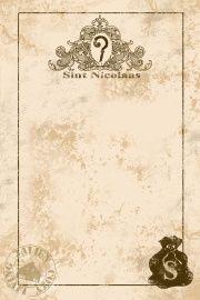 Briefpapier Brocante Sinterklaas
