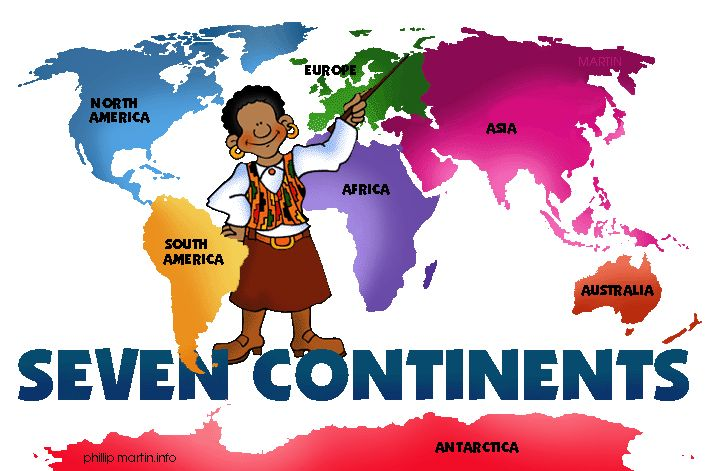 The Continents - Free Presentations in PowerPoint format, Free Interactive Activities and Games for Kids