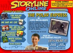 Storyline Online:  Famous people read stories
