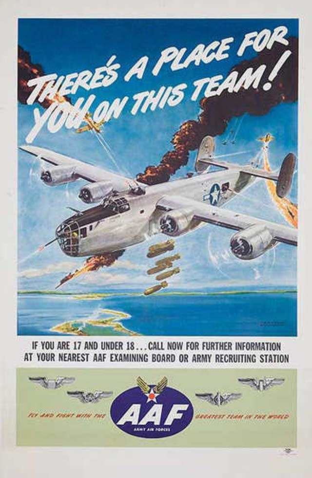Vintage Planes Art War