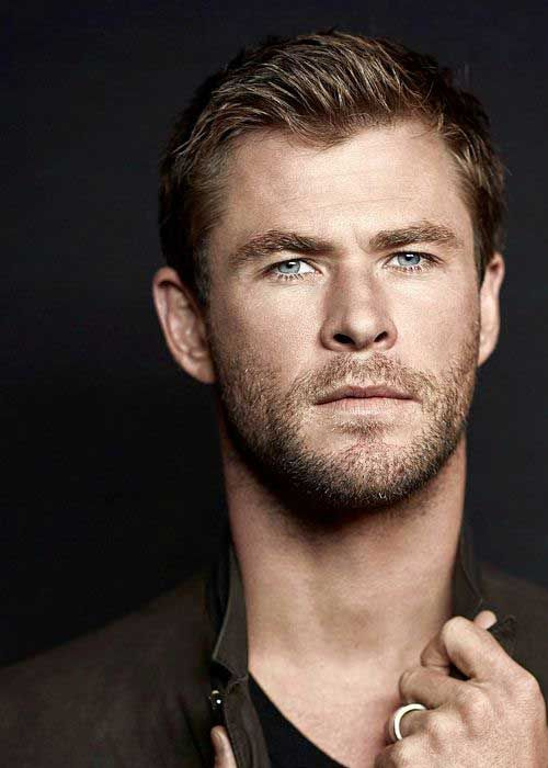 Male Celebrity Hairstyles 2018 Male Celebrities Chris Hemsworth