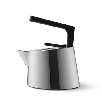 Pyrex STAINLESS KETTLE // shape-geometric-sober