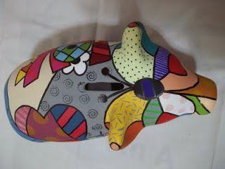 Artesanatos da Cleo: Agosto 2010