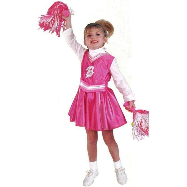 Child Barbie Cheerleader Costume