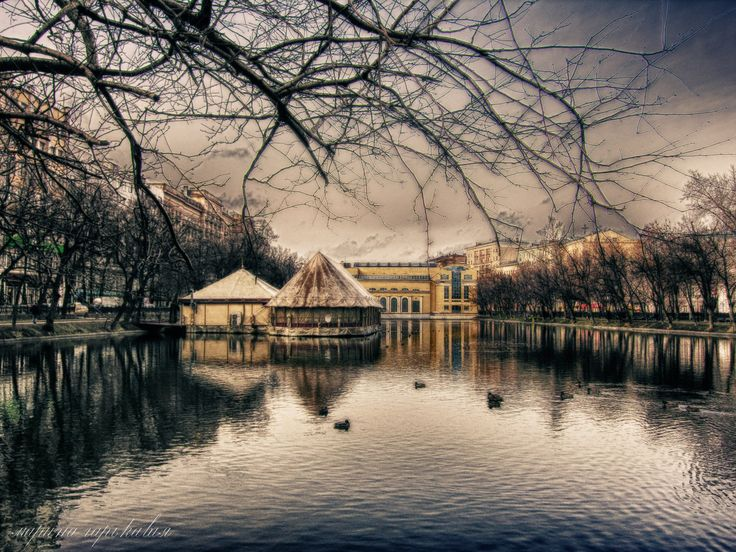 Boulevard in Moscow -
