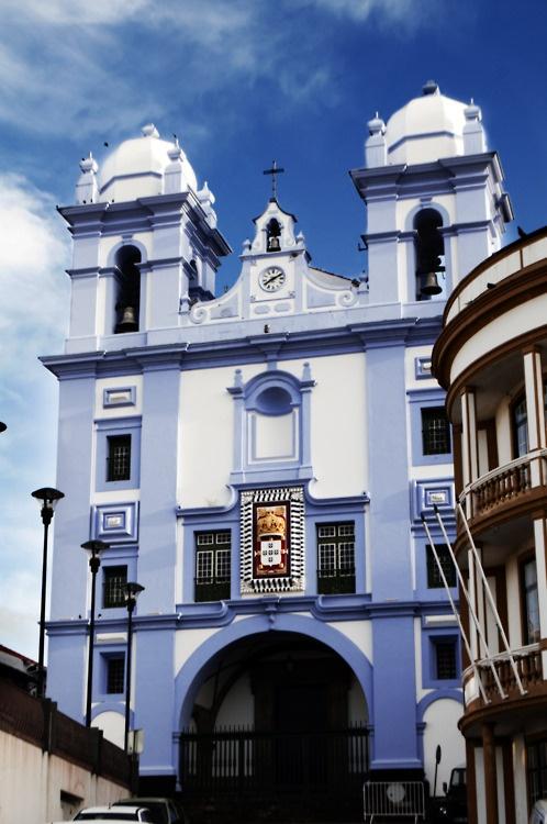 Church in Terceira Island, #Azores #Portugal