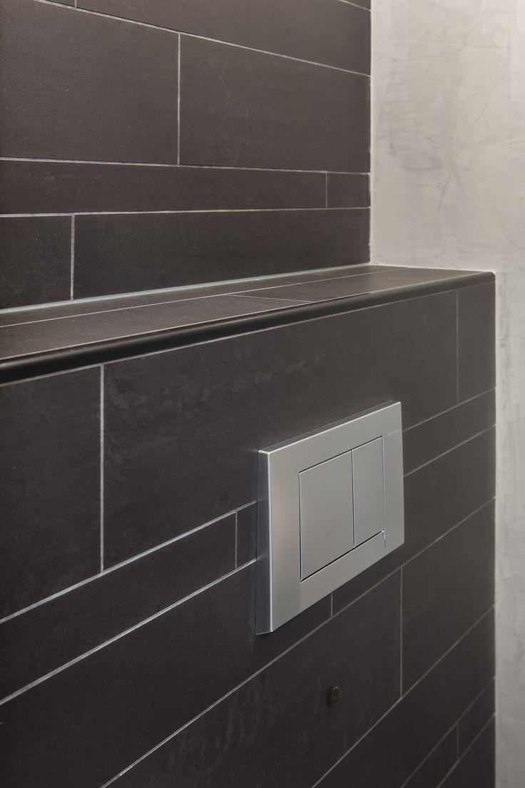 25 beste idee n over badkamer inrichting op pinterest modern badkamerontwerp modern toilet - Kleine badkamer deco ...