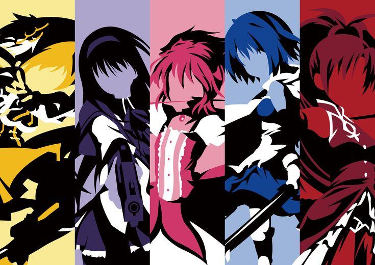 Anime - Puella Magi Madoka Magica  Wallpaper