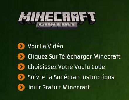 Minecraft Gratuit - Telecharger Minecraft Premium Comptes Gratuit