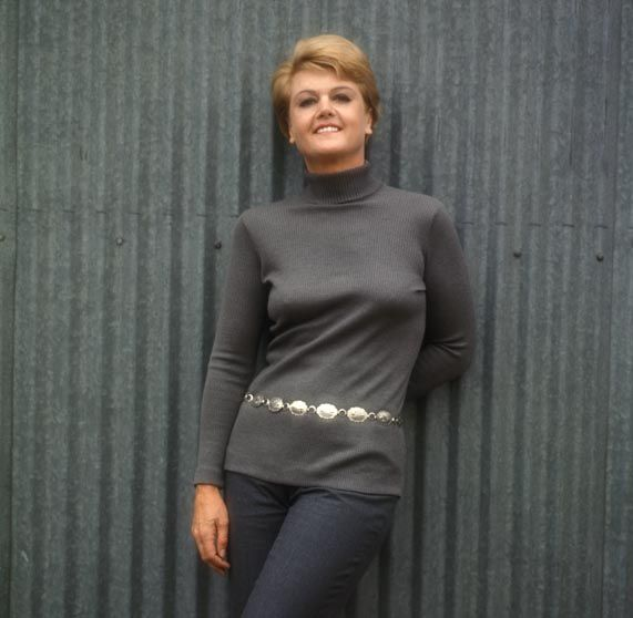 Angela Lansbury when she played Mame.