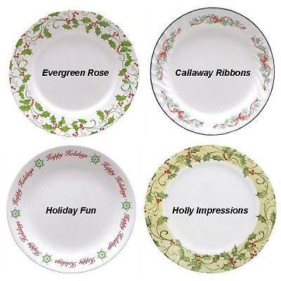 CORELLE CHRISTMAS HOLIDAY DINNERWARE | eBay