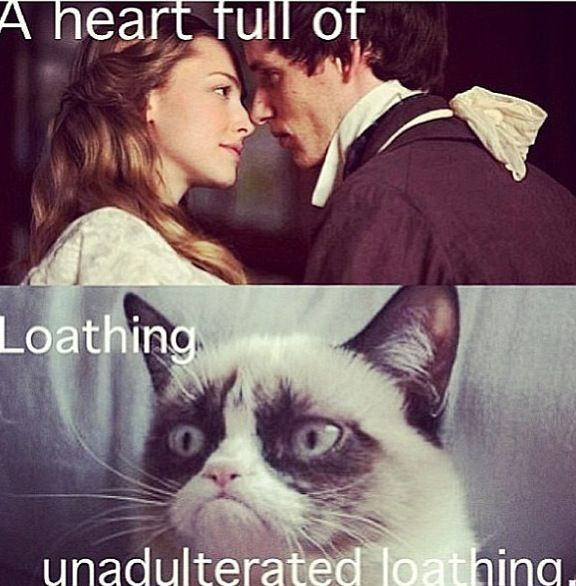 A heart full of...loathing, unadulterated loathing! Yay! Wicked\les miserables cross over!