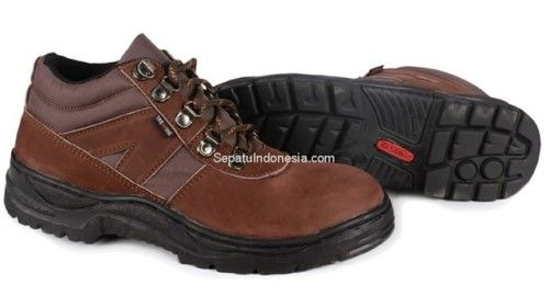 Sepatu Boot Ctn 19 505 Kulit Coklat 38 43 Rp 345 000 Sepatu
