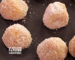 Les perles de coco à la mangue d'ajing : le meilleur pâtissier saison 5