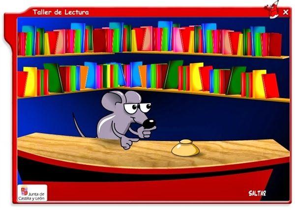 """El """"Taller de lectura"""", de la Junta de Castilla y León, es una aplicación informática que nos ofrece un bonito """"Cuentacuentos"""" con varios cuentos a elegir y con varios personajes que nos pueden narrar (joven, adulto, anciano), mostrando, a la misma vez la narración oral y la escrita."""