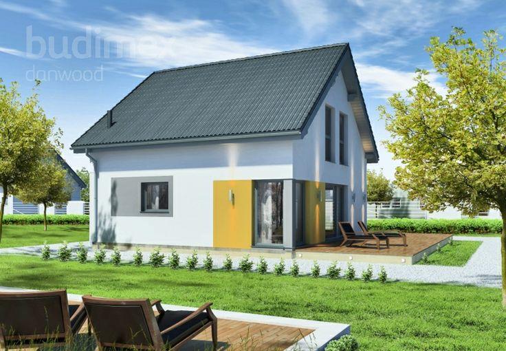 Domy półtorakondygnacyjne Point 118.2 || #houses #domy || Więcej na: http://www.danwood.pl/poltorakondygnacyjne/743.htm