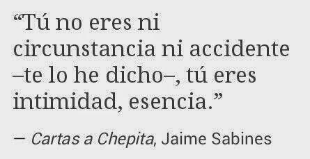 Jaime Sabines-los amorosos cartas a chepita