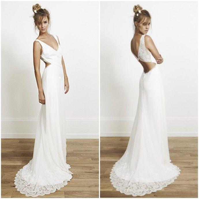 Robe de mariée : j'ose le décolleté dans le dos
