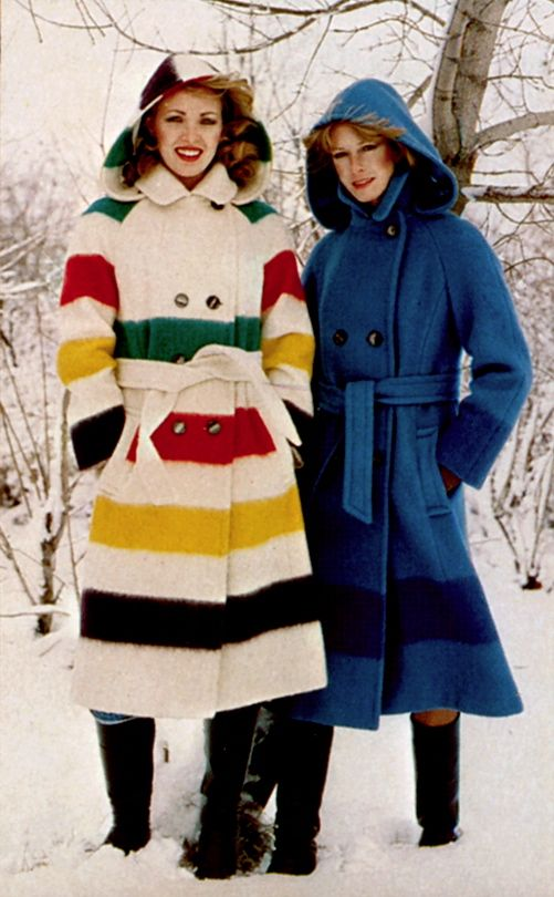 1970 S Hudson S Bay Coats Stripespotting Hudson Bay