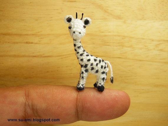 Tiny Crochet Giraffe: Micro Giraffes, Julie S Giraffes ...