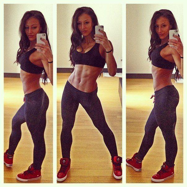Идеальное спортивное тело. Спорт мотивация (18+)
