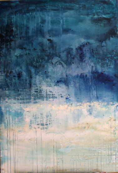 """""""Overflow"""" by artist Carol Hazel - Buy Western Australian Art Online from Out of the Box Biz"""