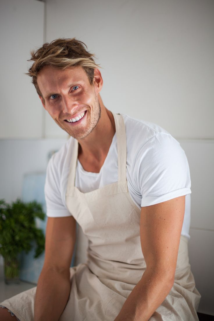 Luke Hines, personal trainer, healthy cook & Dry July ambassador.