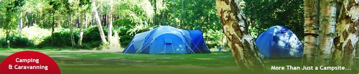 Camping and Caravanning at Wellington Country Park