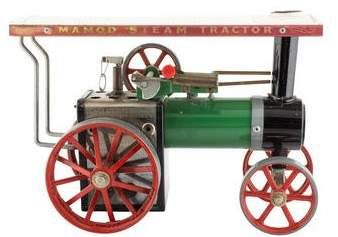 Vintage Mamod TE1A Steam Tractor Toy