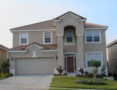 best exterior paint colors for small stucco home with orange tile roof - Google Search