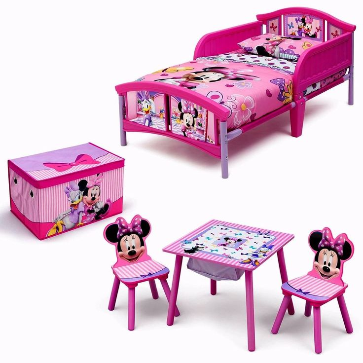 #Children #Kids #Room #Disney #Minnie #Mouse Room-in a Box with BONUS Table Chairs Set #Disney