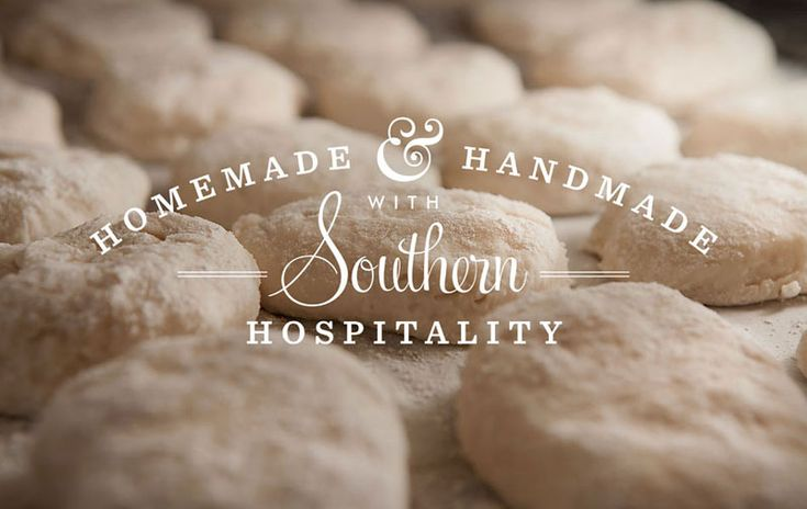 white type: Fletcher Design, Graphics Design Art, Identity Design, Graphics Projects, Southern Recipes, Homemade Biscuits, Fonts Combos, Southern Hospitals, Restaurant Branding