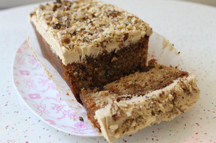 Primrose Bakery's recipe for Coffee & Walnut Loaf