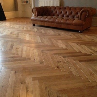 Elegance Herringbone Oak 18mm Engineered Wood Flooring £36 +vat