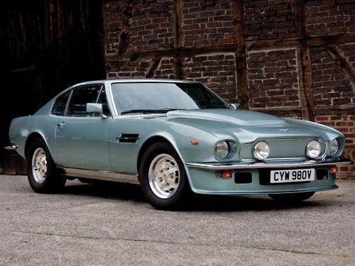 1980(?) Aston Martin V8 Vantage Cars Pinterest