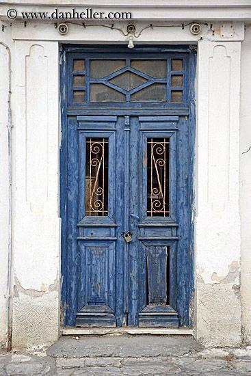 Vintage Doors | old-blue-door-w-lock.jpg blues, doors, doors & windows…