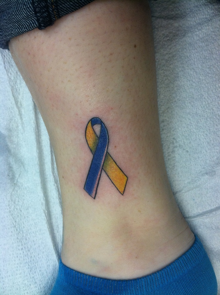 Down Syndrome tattoo! Want to get one for my little brother