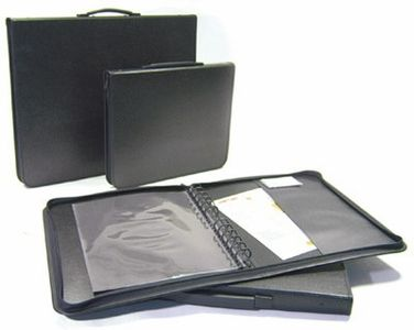 Hey check this site out!!  Want to look more professional?  You will with one of these awesome portfolio cases!