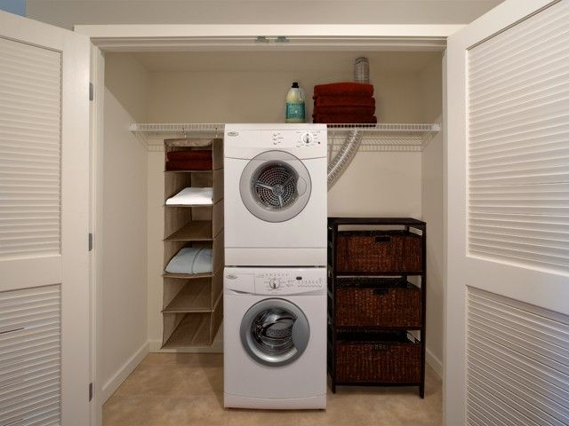 Closet Dimensions For Stackable Washer And Dryer   Google Search