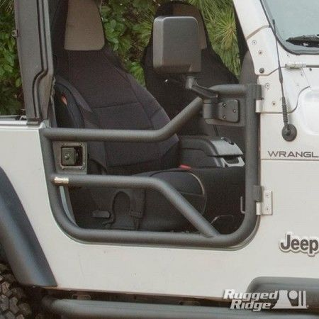 Tube Doors, Locking; 97-06 Jeep Wrangler TJ