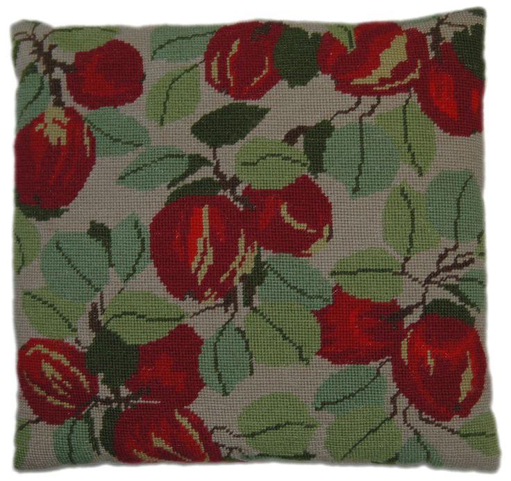 "Apples 14"" cushion"