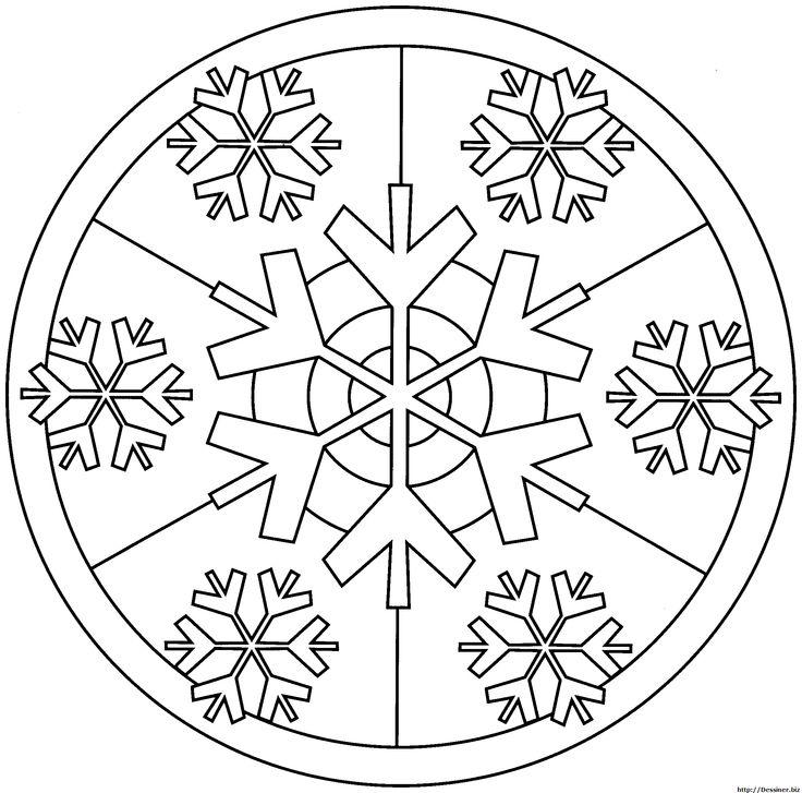 Photos dessin a imprimer mandala de noel page 5 christmas dessiner no l pinterest - Dessin de mandala a imprimer ...