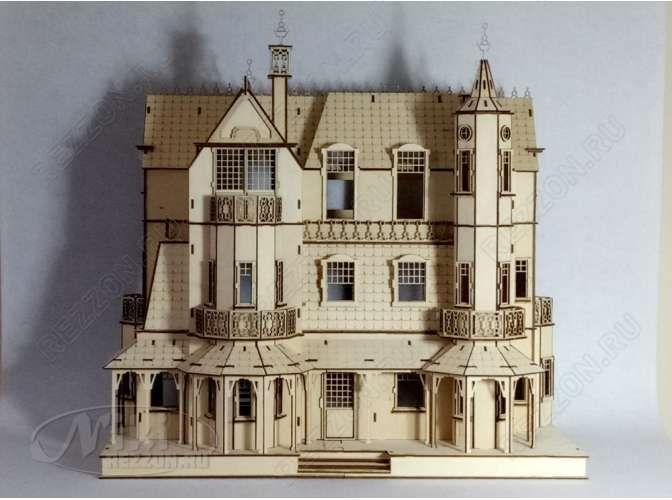 """Кукольный домик """"Дворец для принцессы""""/раскраска (1шт)"""